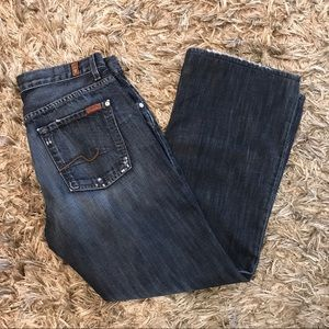 7 for all mankind men's Jeans 31/30